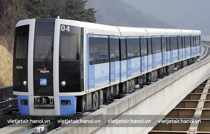 Tàu điện Metro EMU ở Busan