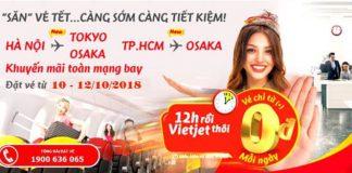 Du lịch thả ga cùng Vietjet Air với 700.000 vé máy bay 0 đồng