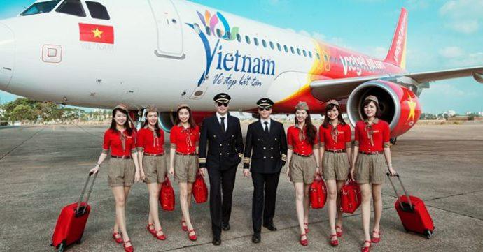 Vietjet Air Đội Bay sinh động nhất thế giới