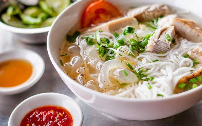 Bún sứa mang đến cảm giác lạ miệng ở Nha Trang