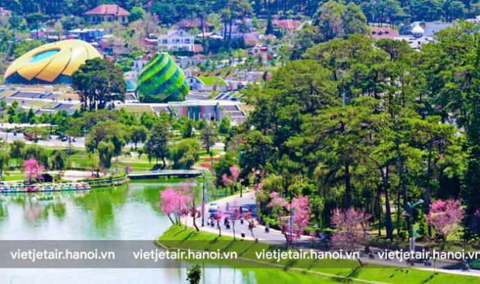Vé máy bay Hà Nội đi Đà Lạt Vietjet Air