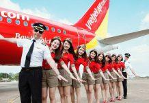 Tham khảo lịch bay một số hành trình tiêu biể của Vietjet Air