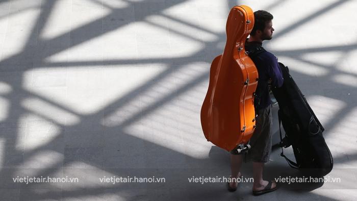 Quy định vận chuyển đàn guitar trên máy bay Vietjet Air