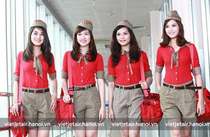 Hành lý xách tay của nhân viên Vietjet
