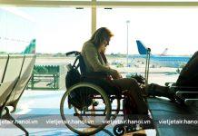 Vietjet Air vận chuyển xe lăn miễn phí 100%