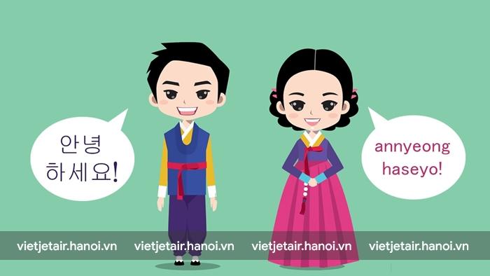 Câu chào trong tiếng Hàn Quốc