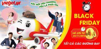 1.000.000 vé 0 đồng chỉ một ngày duy nhất từ Vietjet Air