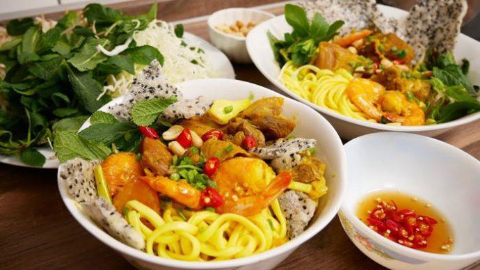 Mì Quảng món ăn được rất nhiều du khách yêu thích