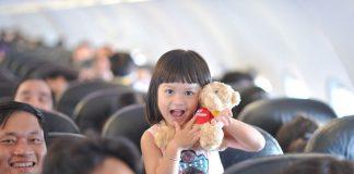 Giá vé máy bay cho trẻ em của Vietjet Air