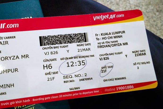 Vé máy bay được xem như hợp đồng