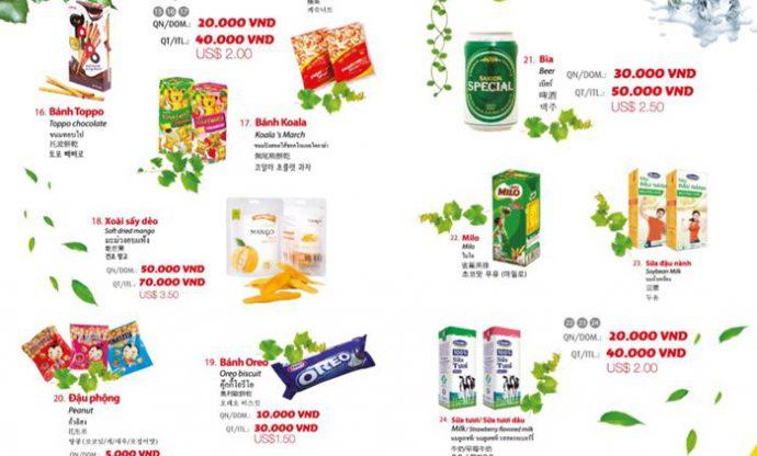 Các món tráng miệng của Vietjet Air