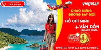 Khung giờ vàng kết nối Hồ Chí Minh – Vân Đồn với 2,2 triệu vé 0 đồng