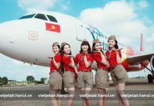 Lịch bay nội địa năm 2018 của Vietjet Air