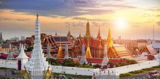 Quang cảnh chùa Tháp ở Thái Lan