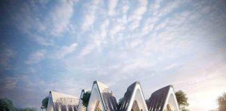 Lấy cảm hứng từ không gian và lối kiến trúc đặc trưng nhà dài của vùng đất Tây Nguyên