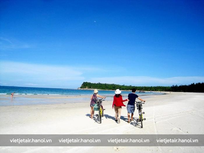 Xe đạp là phương tiện phổ biến trên đảo