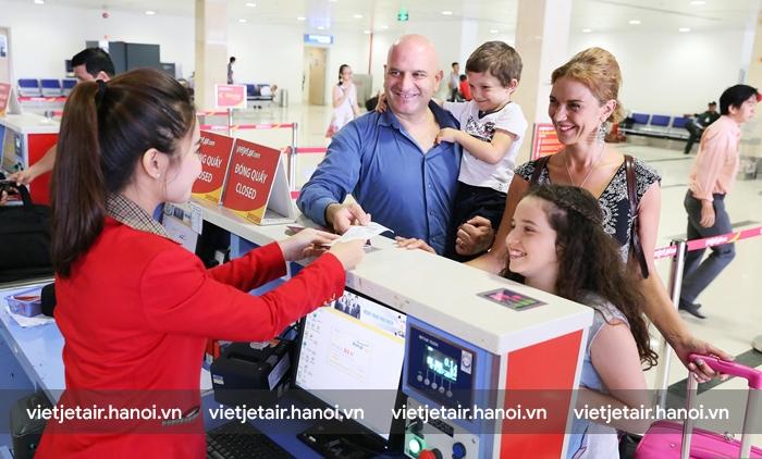 Thủ tục đổi vé máy bay Vietjet Air