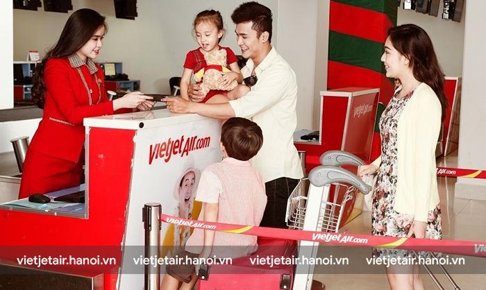 Quy định chung của Vietjet Air về đổi vé máy bay