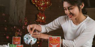 Bánh cốm Nguyên Ninh