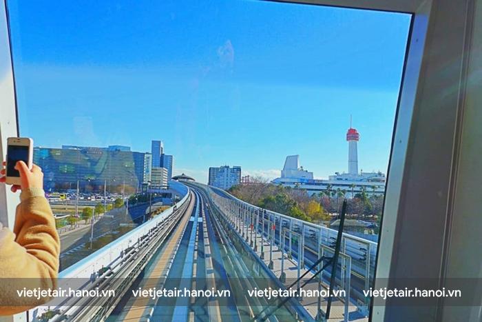 Ngắm  Tokyo từ tàu điện đến Odaiba