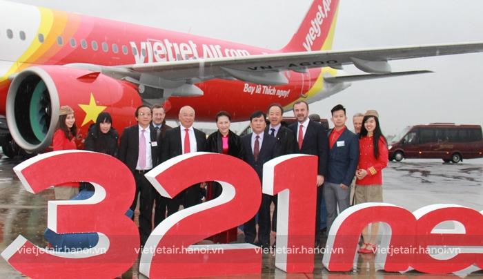 Vietjet đón nhận máy bay thế hệ mới A321neo mới tại Pháp
