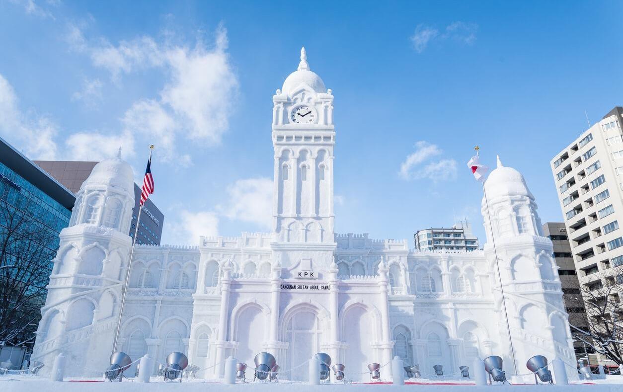Chiêm ngưỡng các tác phẩm điêu khắc tại lễ hội tuyết