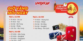 Chương trình khuyến mãi Vietjet vé máy bay 0 đồng