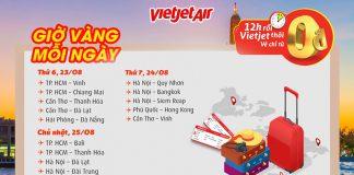 Đại tiệc khuyến mãi vé 0 đồng bay thỏa thích cùng Vietjet