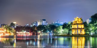 Hành trình du lịch buổi tối ở Hà Nội