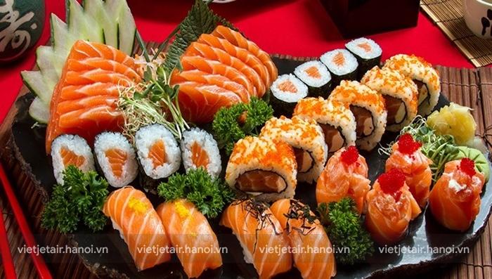 Ẩm thực Nhật Bản theo theo mùa qua các món sushi