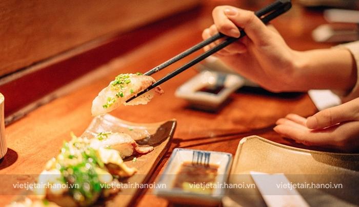 Triết lý ẩm thực Nhật Bản trong cách ăn