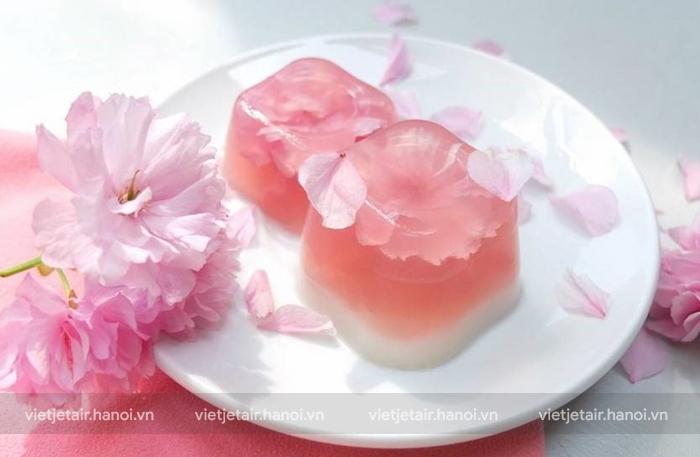 Sakura Yokan thạch rau câu truyền thống