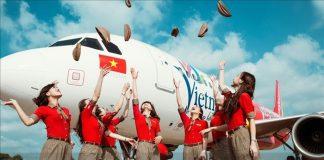 Vietjet Air mở thêm 4 đường bay mới chỉ từ 0 đồng