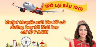 Vietjet Air khuyến mãi chỉ 6.500 VND vi vu Thái Lan