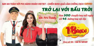 Vietjet Air khuyến mãi 3.000.000 Vé chỉ 18.000 VND