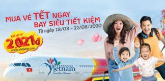 2.600.000 vé máy bay khuyến mãi Tết Vietjet bay siêu tiết kiệm