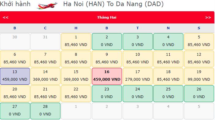 Vé máy bay chỉ từ 0 đồng từ Vietjet