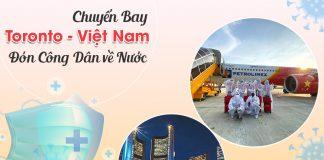 Vé máy bay từ Toronto về Việt Nam
