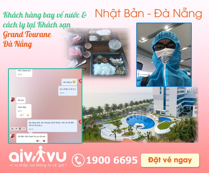 Vé máy bay từ Nhật Bản về Việt Nam