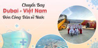 Vé máy bay từ Dubai về Việt Nam