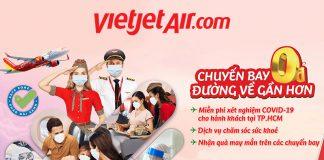 Vietjet Air khuyến mãi vé máy bay 0 đồng đường về gần hơn